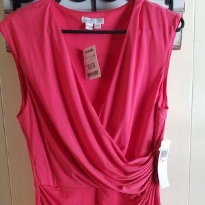 London Time sleeveless dress